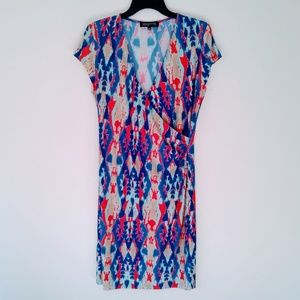 Stunning Faux Wrap Dress by Jones New York